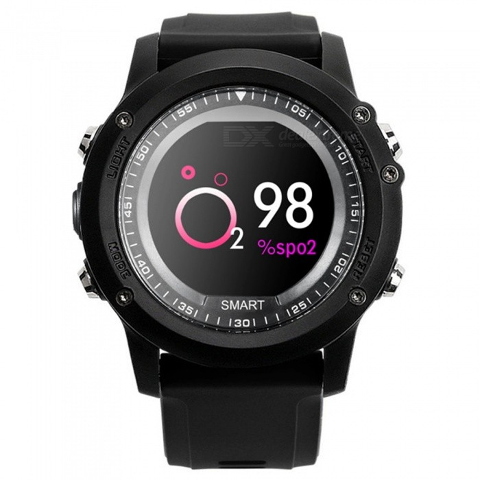 T2 IP68 Waterproof Heart Rate Monitor Bluetooth 4.0  Sport Smart Watch