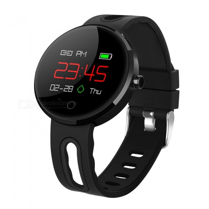 MC02 Smart Bracelet Fitness Activity Tracker with Heart Rate Monitor Blood Pressure Smart Watch