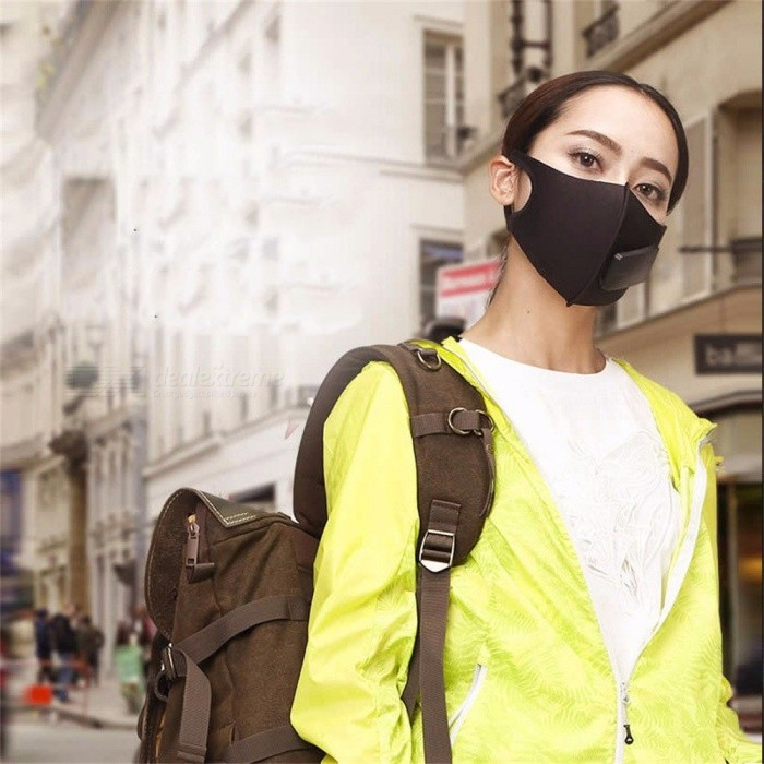 Men-And-Women-Smart-Mask-Anti-Fog-Anti-Haze-PM25-Ventilation-Dust-Proof-Breathable-Mask-Black