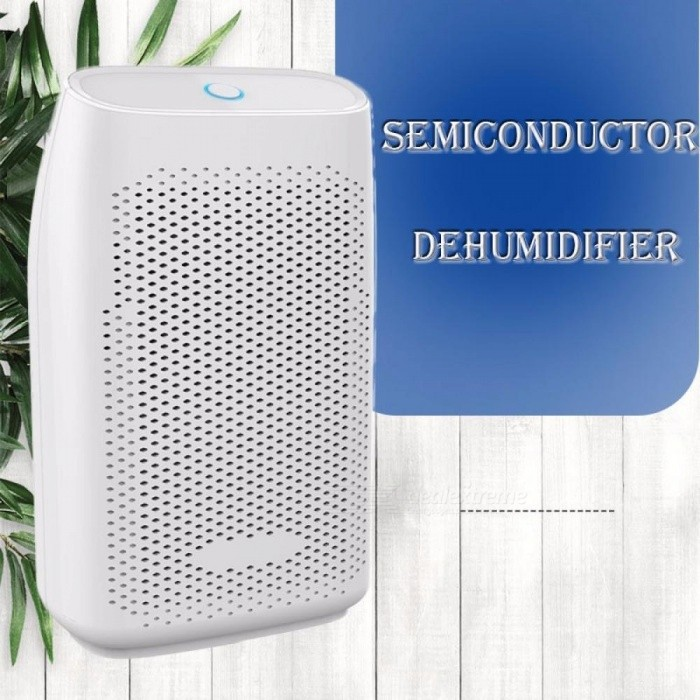 25W 700ml Water Tank Mini Portable Semi-conductor Dehumidifier For Home Bathroom Closet Air Dryer White/EU Plug