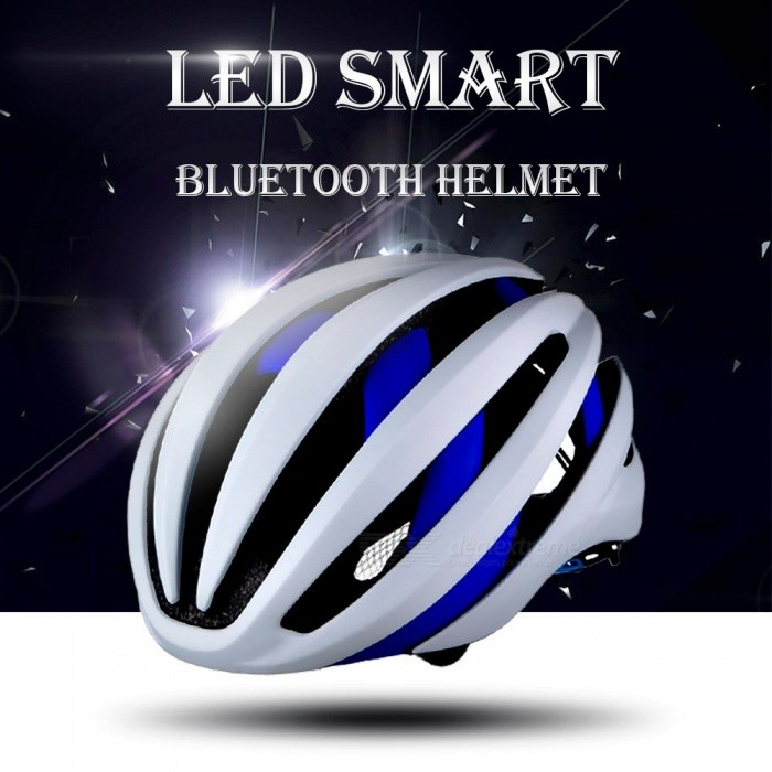 Stylish-EPS-Light-LED-Smart-Bluetooth-Bike-Helmet-Outdoor-Cycling-Safety-Helmet-Protective-Bicycle-Gear-With-Mic-For-Men-Blue