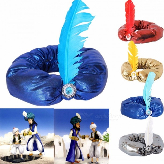 Halloween Party Cosplay Aladdin Hat Aladdin's Adult Men Women Hats Four Colors