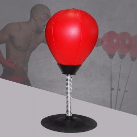 Easy-Fixed-Desk-Boxing-Punching-Bag-Speed-Ball-Bags-Practical-Speed-Balls-Stress-ReleaseTraining-Fitness-Sports-Red