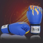High-Quality-Adult-Ladiesmens-Boxing-Gloves-Professional-Competition-Muay-Thai-Fight-Training-Sandbag-Fighting-Gloves-Blue