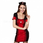 Halloween-Costume-Women-Sexy-Nurse-Costume-Back-Bandage-Cosplay-Uniform-Clothes-Dress-With-Headband-For-Women-MultiMOther