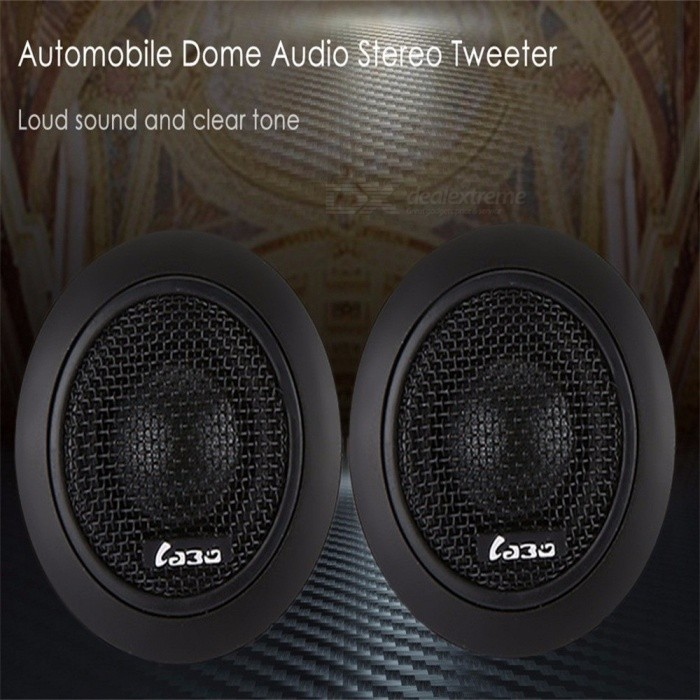 1Set  LB-GY108A 25 Car Speaker Automobile Dome Sound Music Tweeter 25mm KSV Voice Coil Stereo Speakers