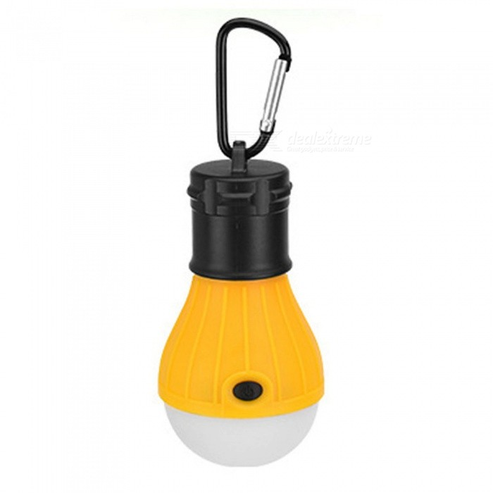 JEDX Outdoor Barbecue Camping Tent Lamp, 3-LED Bulb Hanging Lamp