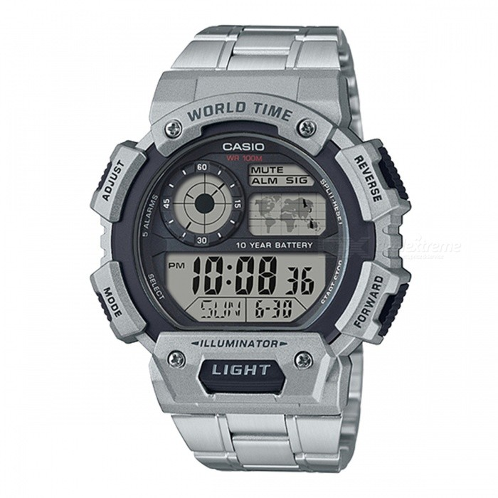 Casio AE-1400WHD-1A Digital Watches - Silver (Without Box)