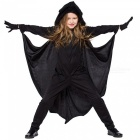 Halloween-Cosplay-Clothing-Neutral-Children-Jumpsuit-Pretend-Play-Costume-Bat-Shirt-BlackLBatman