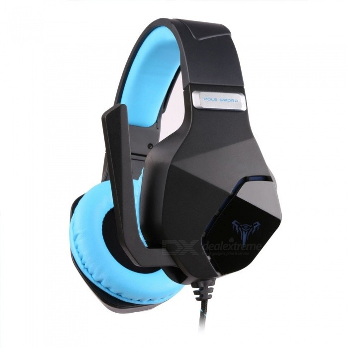G600 Gaming Surround Sound Headset Computer Stereo Gaming Headphones Best Casque Deep Bass Game Earphone Headset Blue