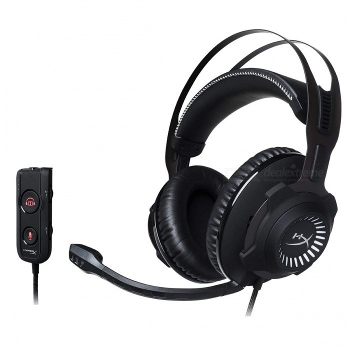 HyperX Cloud Revolver S Gaming Headset HX-HSCRS-GM/AS for PC, Mac, PS4, Xbox One & Mobile