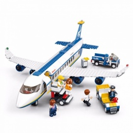 Building-Blocks-City-Airplane-Series-DIY-Air-Bus-Aircraft-Airport-Assembled-Bricks-Classic-Educational-Toys-For-Children-White