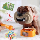 Strange-Trick-Wacky-Cavecanem-Desktop-Game-Funny-Family-Party-Electric-Sound-Dog-Creative-Parent-child-Interactive-Toy-Brown