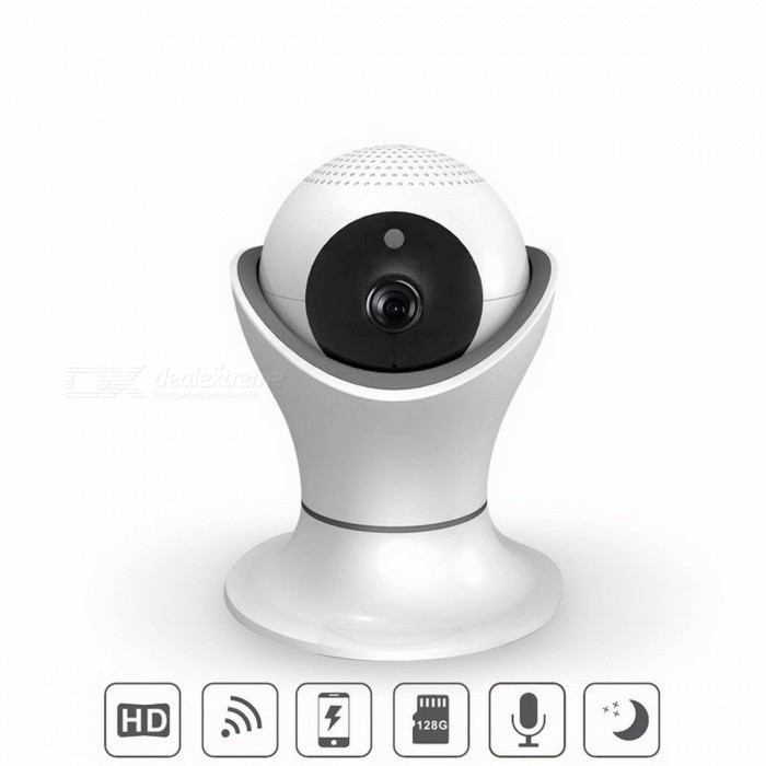 DAGRO 360 Rotation PTZ Wireless Wi-Fi Remote Monitor, Smart Home Security Surveillance HD Video Camera