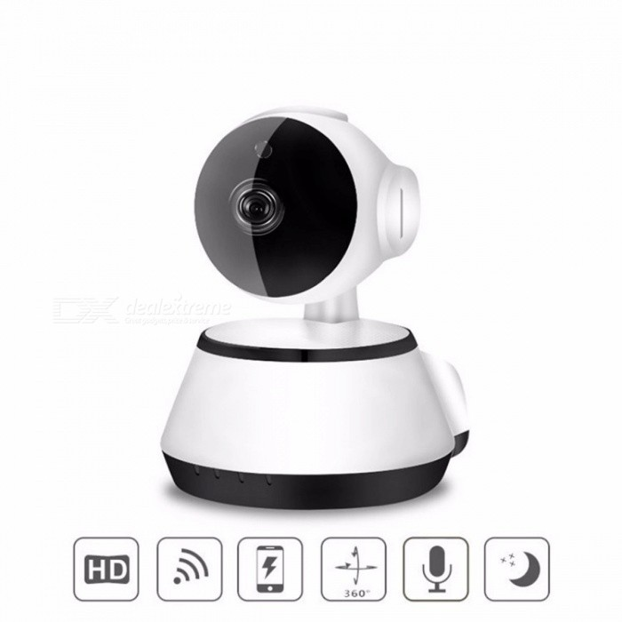 Wireless Wifi IP Camera Home Security Surveillance Camera 720P HD 3.6mm Lens Wide Angle