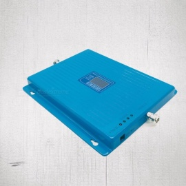 900-1800-2100-Tri-Band-Signal-Booster-Mobile-Phone-Signal-Amplifier-Cell-Phone-Repeater-GSM-DCS-WCDMA-Blue-US-Plug