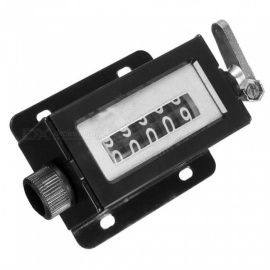 D67-F 5 Digit Counters Black Casing Mechanical Pull Stroke Counter