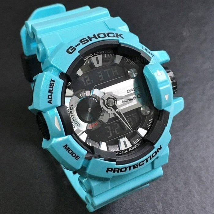 2209126f771a8 Casio G-Shock GBA-400-2C G MIX Lineup of Music-Themed Watch - Light ...