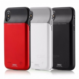 REMAX-For-IPhoneX-Dedicated-Back-Clip-Mobile-Power-3200-MAh-Power-Bank-Black