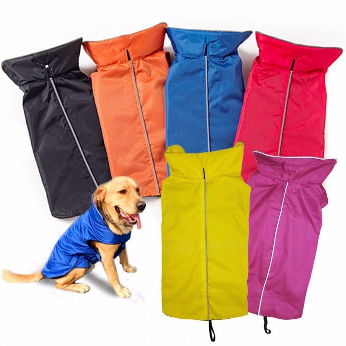 Waterproof Dog Vest Jacket Pet Clothes Autumn And Winter Dogs Coat Large