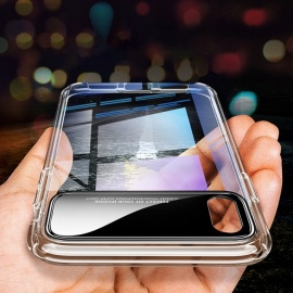 USAMS-Phone-Case-For-IPhone-X-W-Anti-drop-Airbag-Clear-ClearTPU