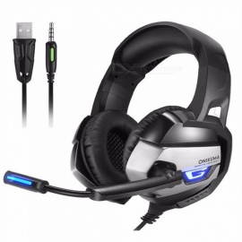 ONIKUMA-K5-Headset-With-Microphone-Wired-Gaming-Headset-Esports-Headphones-Blue