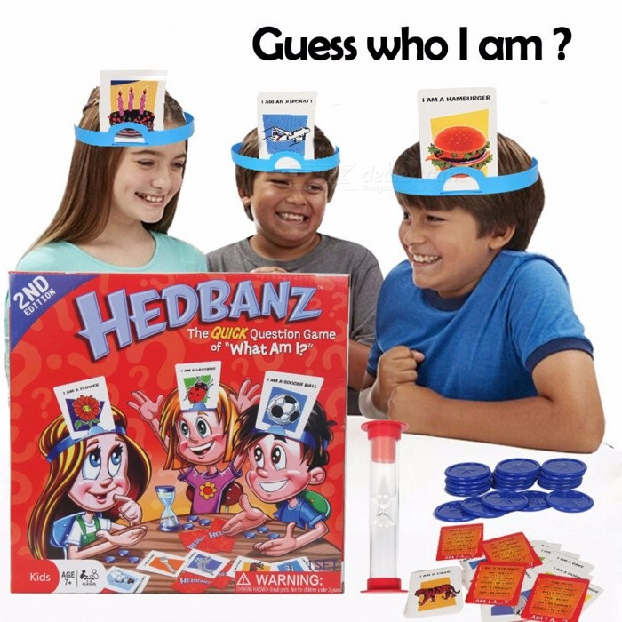 Guess Who I Am Parent-child Interactive Board Game Toys Children's Enlightenment Puzzle Chess Game Language Training Red