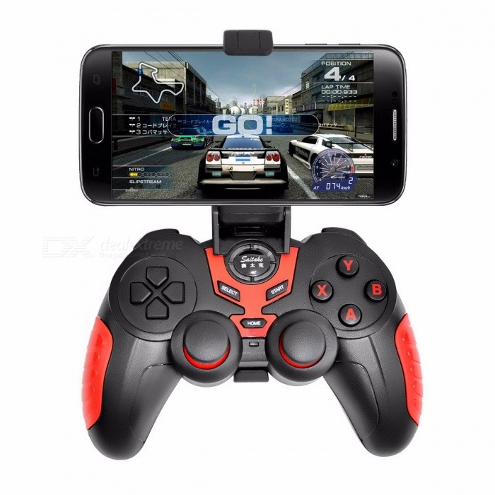 Wireless-Bluetooth-Game-Controller-Portable-Joystick-Handle-Gamepad-For-IOS-Android-Devices-Red