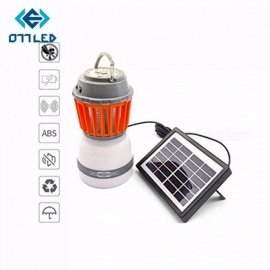 Solar-Electronic-Mosquito-Killer-With-Led-Lamp-Portable-Waterproof-Multifunctional-Lamp-Rechargeable-Insect-Killer-Lamp-OrangePurple