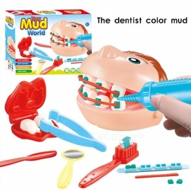 Children-Dentist-Workshop-Plasticine-Suit-Simulation-Doctor-Toys-Teeth-Protection-Play-House-Learning-Educational-Toys-Multicolor