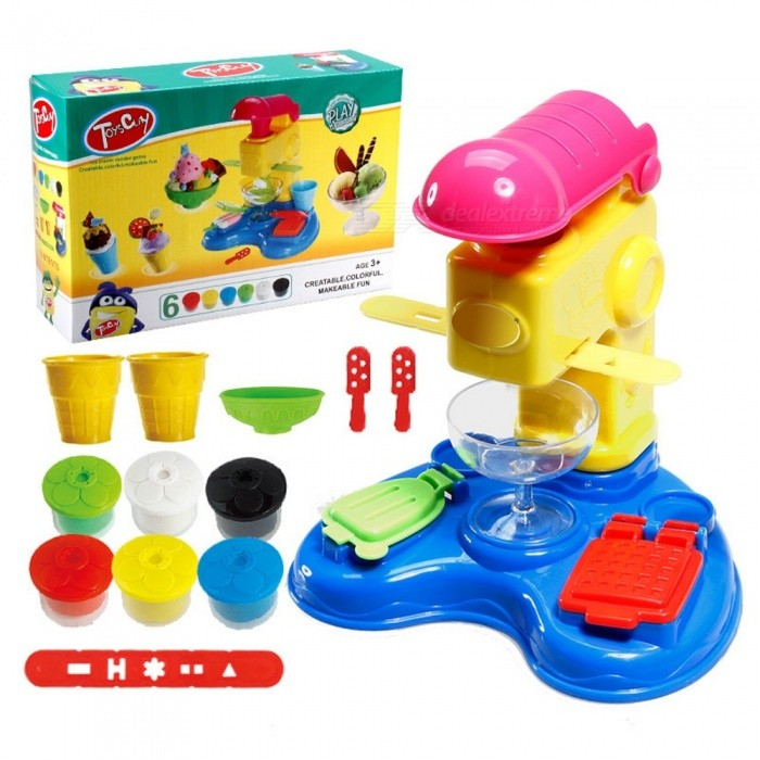 DIY-Children-Toy-Plasticine-Mould-Tool-Suit-Kids-Ice-Cream-Machine-Play-House-Educational-Toys-For-Kids-Multicolor
