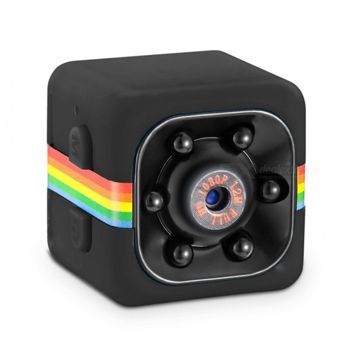 VESKYS Mini HD 1080P Sport Camera w/ Infrared Night Vision, Vehicle Traveling Data Recorder, Sport Outdoor DV