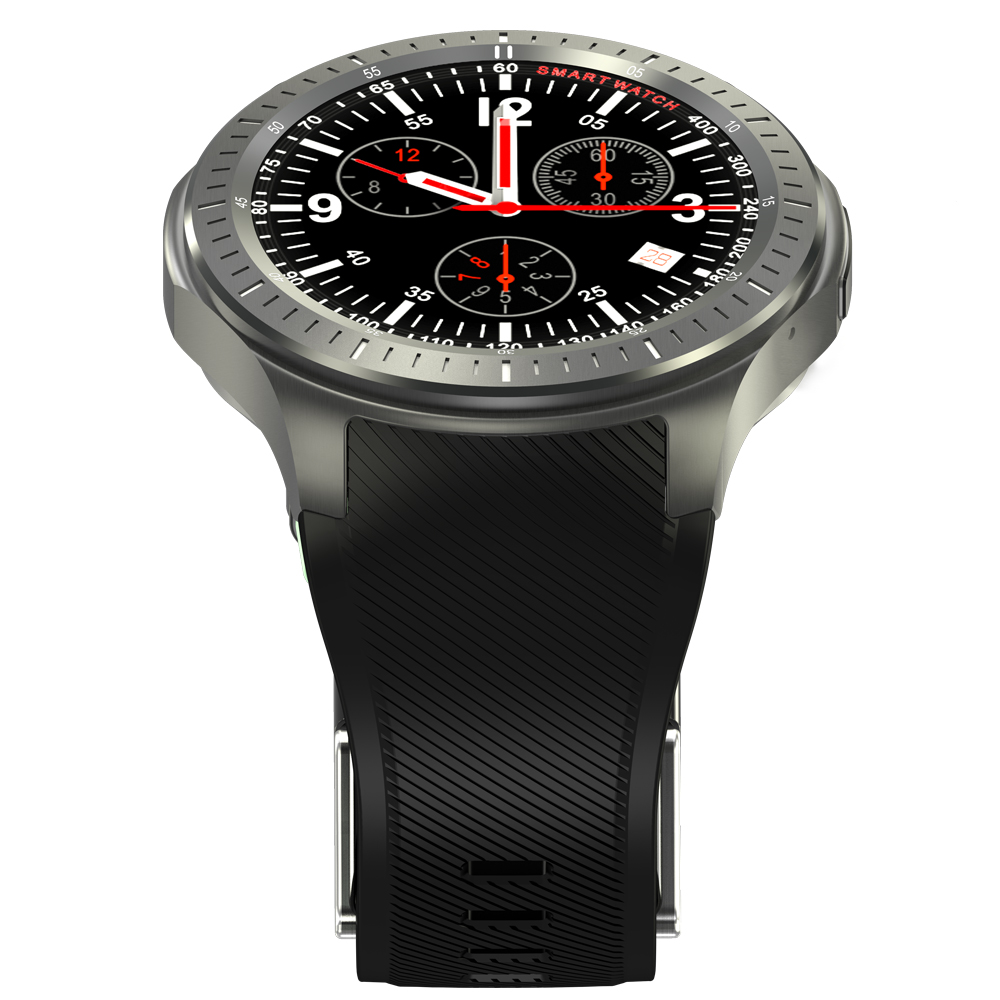 Eastor DM368 1.39 inch Android 5.1 3G Smartwatch Phone ...