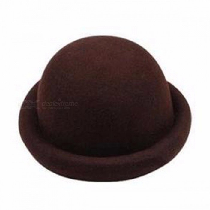 ... Vintage Ladies Women Flanging Wool Cap f06a4e8f639