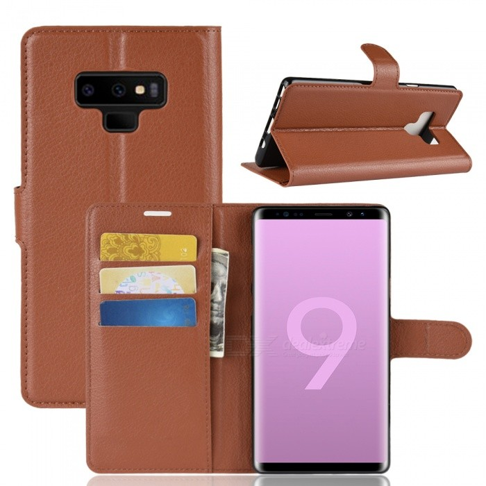 PU Leather Full Cover Wallet Phone Case for Samsung Note 9