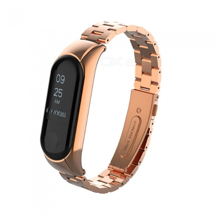 Replacement Metal Strap for Xiaomi Mi 3 band Steel Strap Wristbands