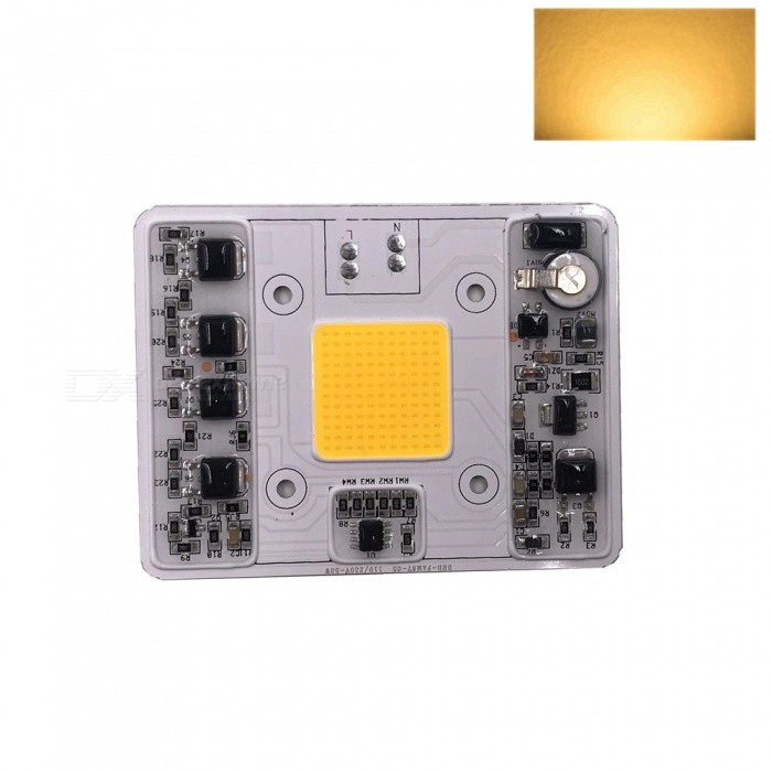 ZHAOYAO-AC110-220V-50W-COB-LED-Dimmable-LED-Lamp-Integrated-Light-Source-Warm-White-white-Light