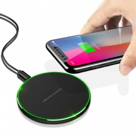 Cwxuan Qi Wireless Charger Station for iPhone X 8 10W Fast Wireless Charging for Samsung Galaxy S7 S8 S9  Note 8 Mix 2S, Huawei