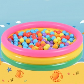 Trinuclear-Rainbow-Inflatable-Pools-Baby-Swimming-Pool-Portable-Outdoor-Children-Bathtub-YT-507-80*35cm-Multi