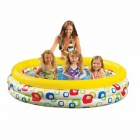 INTEX-58439-American-Colorful-Ripple-Inflatable-Baby-Swimming-Pool-Portable-Outdoor-Kids-Bathtub-147*33cm-Light-Yellow