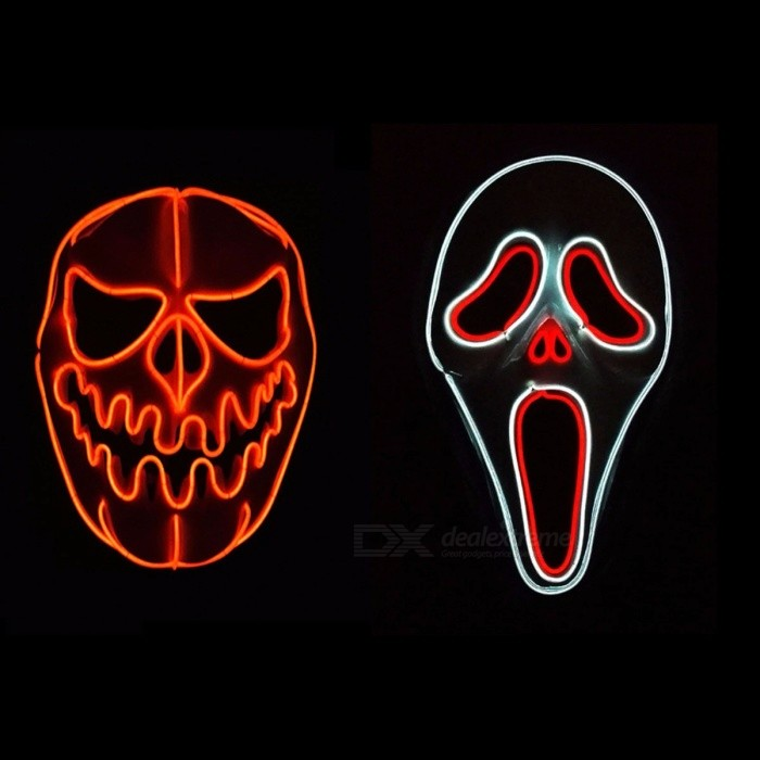 Double-Color-EL-Wire-Glowing-Scream-Mask-Halloween-Party-Masquerade-Masks-Halloween-Horror-Mask