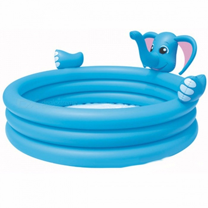 Bestway-53048-152*74cm-Inflatable-Baby-Swimming-Pool-Elephant-Pools-Portable-Outdoor-Children-Basin-Bathtub-Sky-Blue