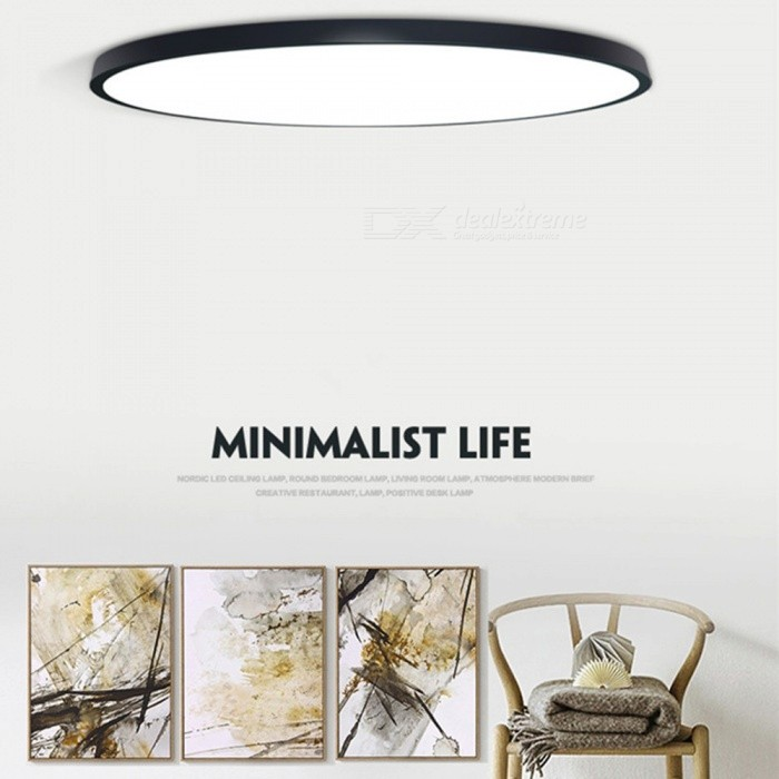 Ultra-thin LED Ceiling Lights For The Living Room Chandeliers Light Hall Modern Ceiling Lamp High 5cm White/0-5W