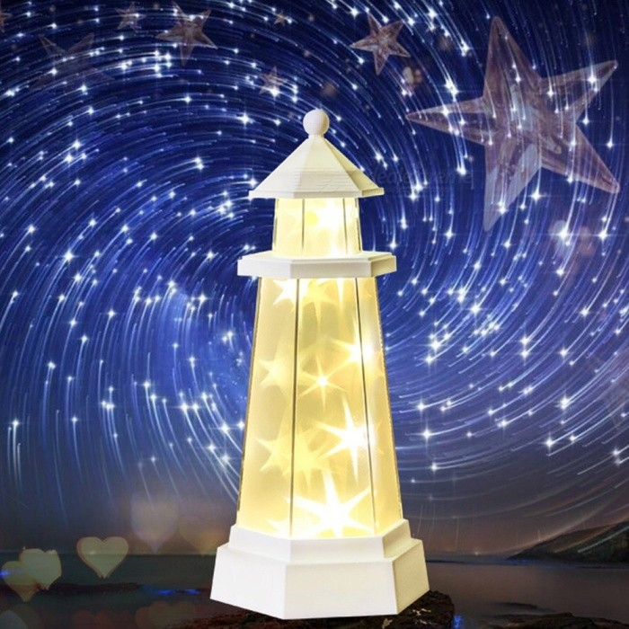 Novelty-Remote-Control-Night-Light-Tower-Style-Star-Light-Desk-LED-Lamp-For-Home-Decor-Gifts-Bedroom-Holiday-Warm-White-Warm-WhiteWhite