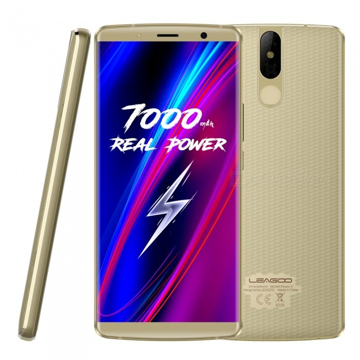 Leagoo Power5 5.99 Zoll (189) MT6763V 8-Core-2,0-GHz-Smartphone Mit 6 GB RAM, 64 GB ROM