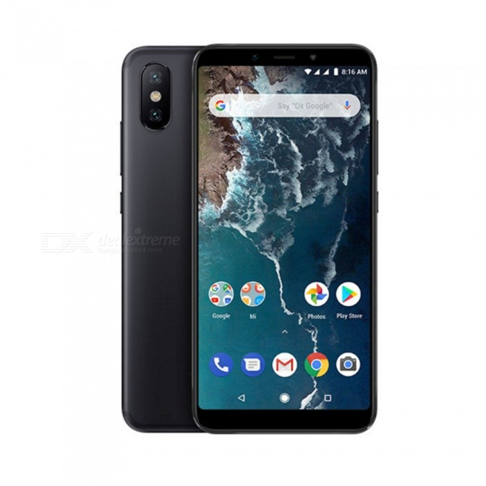 Xiaomi A2 Android Phone with 4GB RAM, 64GB ROM - Black