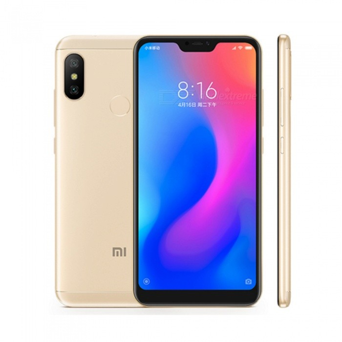 Xiaomi A2 LITE Android Phone with 4GB RAM 64GB ROM - Global Version (EU Plug)