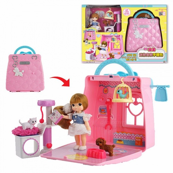 mimiworld-Mini-Cute-Sweet-Handbag-Style-Furniture-Toy-House-Pretend-Play-Toy-Birthday-Gift-For-Girls-White