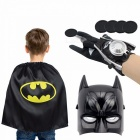 Cartoon-Children-Kids-Spiderman-Advengers-Superhero-Costume-Mask-Cloak-Gloves-Halloween-Blue