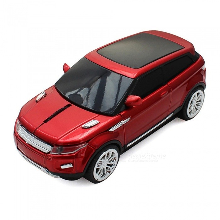 2.4Ghz Wireless Super Sport Land Rover Optical Car Shaped Computer Mouse For PC